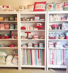 Sewing shelves - Tasha Horsley