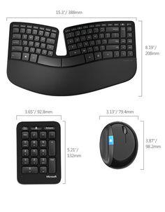 Microsoft's New Ergonomic Keyboard Feels Good, Looks Good