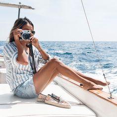 Sail away in stripes