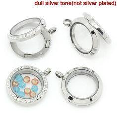 http://de.dawanda.com/product/36335941-glasmedaillon-mit-strass-wechselschmuck-30883