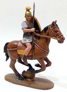 """Legionario della Legio X Equestris, 45 a.C., numero 93 della collezione """"Roma e i suoi nemici"""" (2011 Vadis) #Miniatures #Figures #AncientRome #OspreyPublishing"""