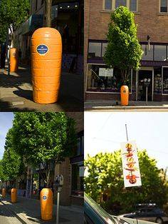 guerrilla marketing - carrots (creative advertising, ad, marketing, branding, design, business, great, amazing, idea, inspiration)