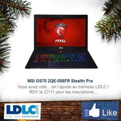 MSI GS70 2QE-056FR Stealth Pro => http://www.ldlc.com/fiche/PB00175667.html#53302f3f2a970