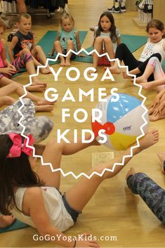 5 Fun Kids Yoga Games To Do With Your Child - Go Go Yoga For Kids - Looking to try something new and active with your children? Yoga games are a great way to get kids - Kids Yoga Poses, Yoga For Kids, Exercise For Kids, Teaching Yoga To Kids, Children Exercise, Preschool Yoga, Children Games, Preschool Games, Yoga Games