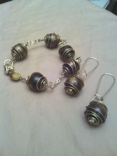 Wired beads..set..