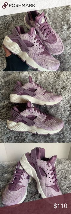 510fccdcfe22 Nike Air Hurache Run Premium Women Sz 6.5 Violet New with box no lid
