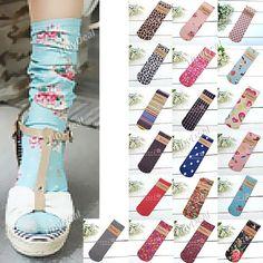 European Vintage Style Ultrathin Socks Sheer Silk Socks for Girl Lady Woman - 25cm Long NAK-89286