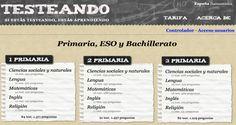 Un trivial de Educación Primaria - http://www.academiarubicon.es/trivial-de-educacion-primaria/