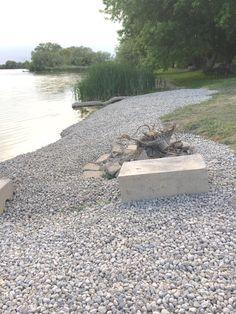 """Concrete Blocks """"Controlling The River Surges"""""""