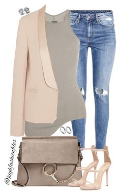 """""""Everyday Style"""" by highfashionfiles ❤ liked on Polyvore featuring ASOS, H&M, Rick Owens, Vanessa Bruno, Chloé, women's clothing, women's fashion, women, female and woman"""