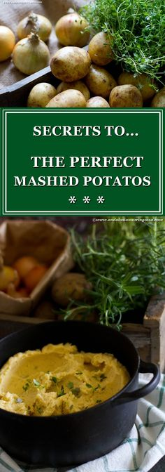 My secrets to the perfect mashed potatos? Caramelized onions and browned butter. Oh, and love, of course <3  * * *   mash mashed potatos glutenfree comfortfood foodie foodblog foodphotography kosher