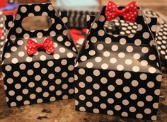 Mickey & Minnie Inspired Goodie Boxes.