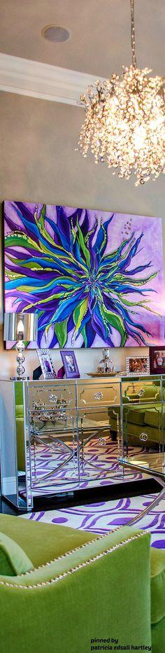 Like the painting - very striking!