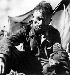St. Laurent-sur-Mer, Calvados. June, 1944. German soldier captured by US forces.