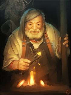 Blacksmith by GaudiBuendia on DeviantArt