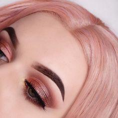 "58.4k Likes, 236 Comments - Anastasia Beverly Hills (@anastasiabeverlyhills) on Instagram: ""Beautiful Look by @pranksterka BROWS: #Dipbrow in Medium Brown & Clear Brow Gel EYES: Soft Glam…"""
