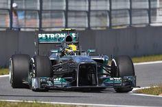 Formel 1 - MERCEDES AMG PETRONAS, Großer Preis von Korea. 04.-06.10.2013. Lewis Hamilton