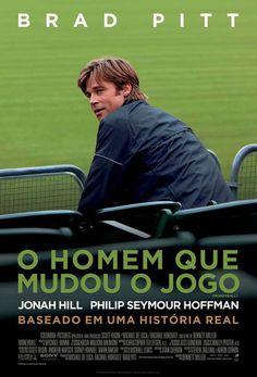Cartaz do filme indicado ao Oscar 2012, O Homem que Mudou o Jogo.