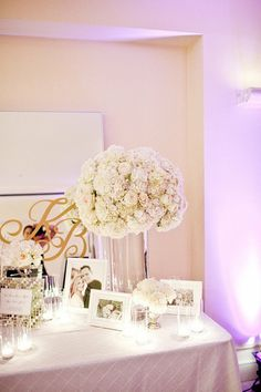 guest book table- how beautiful