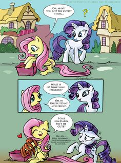 MLP FiM: What do you mean its not CUTE? by ~WolfWhiskers on deviantART