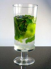 virgin mojito-perfect solution for not drinking anymore and loving mojitos!