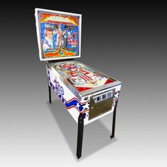 Even Knievel Pinball Machine from The Games Room Companys selection of Pinball Tables Things To Buy, Old Things, Pinball, Arcade Games, Game Room, Art Reference, Man Cave, Tables, Magic