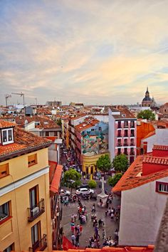 La Latina, Madrid. The neighbourhood where I stayed in 2015