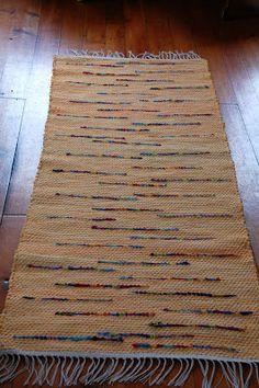 Crazy as a Loom rag rug