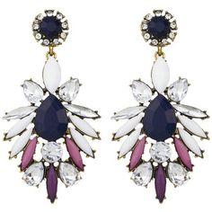 e04d272b4 <3 Rhinestone Earrings, Flower Earrings, Women's Earrings, Fashion Earrings,  Fashion Jewelry