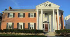 Alpha Omicron Pi House at Ohio State #Greek #Sorority #AlphaOmicronPi #AOPi #AOII #Home