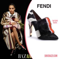 "Zoe Kravitz is featured in the September 2013 issue of Harper's Bazaar ""Singular Beauties:An Homage to the Diversity of Women"" issue wearing Fendi booties. continue reading →"