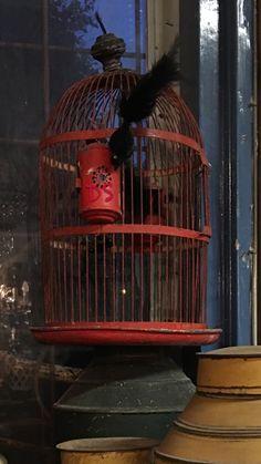Dickens Style birdcage