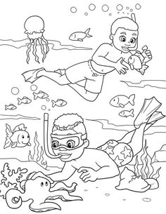 The Colorful Adventures of Cody & Jay Coloring Page