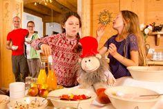 #Kinder #Frühstücksbüffet Christmas Sweaters, Children