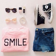 Everyday New Fashion: Love This Smile Outfits :)