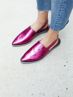 Pink Lexa Flat at Free People Clothing Boutique