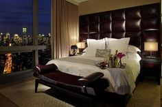 Trump Soho, NY -  Most amazing bed ever!! Totally miss this place!!