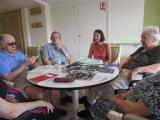 Ateliers d'écriture seniors à la maison de retraite Le Clos des Vignes, à Grasse.