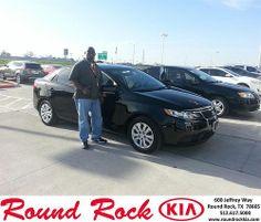 Congratulations to Brian Jones on your #Kia #Forte purchase from Rudy Armendariz at Round Rock Kia! #NewCar