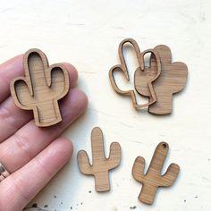 Juego de biseles de Cameo de Cactus 2 - corte Laser madera suministros