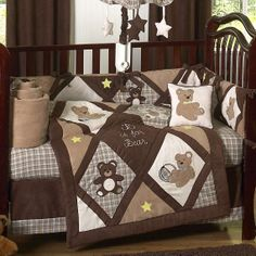 Teddy Bear Chocolate and Cream quilt idea