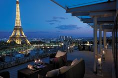 The Most Perfect View - Shangri-La Hotel, Paris (Île-de-France, France)