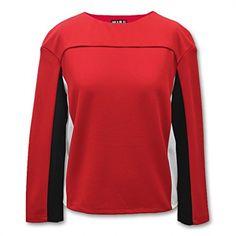 Jasi & Co JSDJ2194 Long Sleeve Shirt O-Neck Solid Top Short Style Jasi & Co. http://www.amazon.com/dp/B00YGEXWLU/ref=cm_sw_r_pi_dp_4ZO3vb0917XDZ