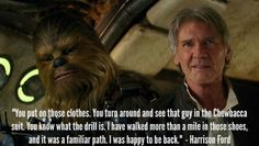 Exclusive Interview: Harrison Ford Talks Han Solo and Star Wars #StarWarsEvent