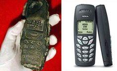 EXTRATERRESTRE ONLINE: Descoberta de um Objeto da Antiga Babilônia semelhante a um telefone celular do século 13 aC