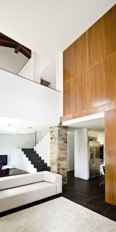 Interior of a house in Travesseres Spain by Garces De Seta Bonet Arquitectes.