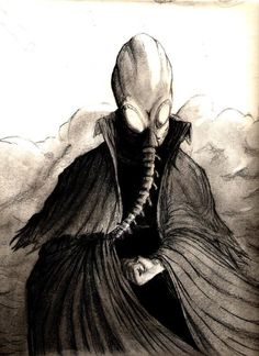 Sandman by Neil Gaiman. Morpheus wearing his magic helmet.
