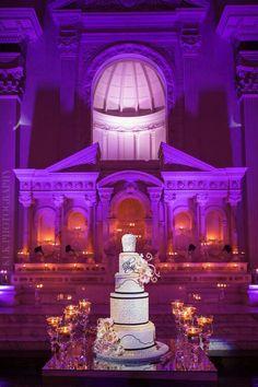 Vibiana Real Wedding |Danielle + Michael - Vibiana - A Good Affair - KLK Photography - Los Angeles Wedding - Wedding Cake