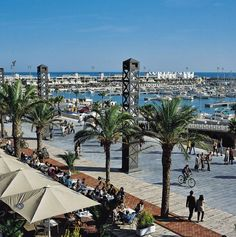 Harbour & beach Barcelona