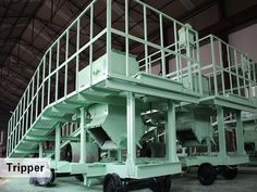 installation debugging operation tripper conveyors
